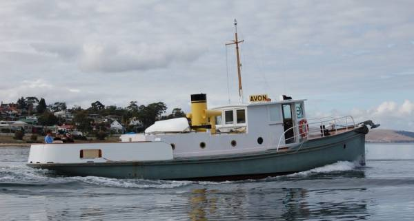 Mini Tug Boats for Sale http://www.boatsonline.com.au/boats-for-sale/used/power-boats/wooden-tug-52-avon/100314