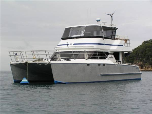 Paul Stanyon Aluminium Catamaran