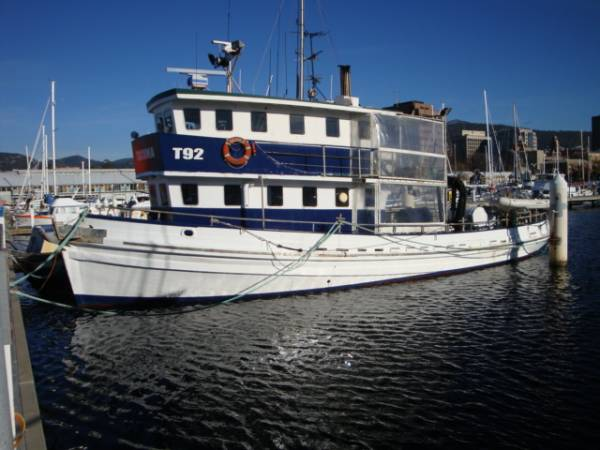 "Abalone Mother Ship/ Converted Tugboat ""Tacoma"""