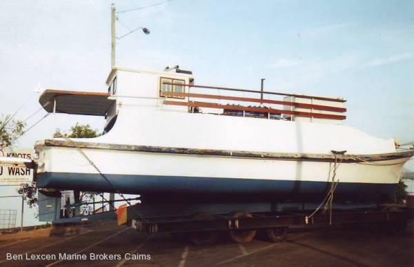 Grp fishing charter vessel commercial vessel boats for Used commercial fishing boats for sale