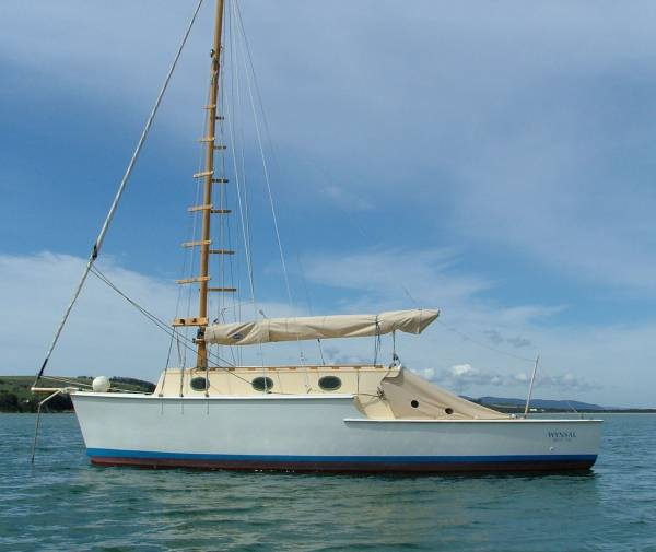 Gaff Rigged Sailboat For Sale http://www.boatsonline.com.au/boats-for-sale/used/sailing-boats/huon-pine-gaff-rigged-motorsailer-wynsal/66235