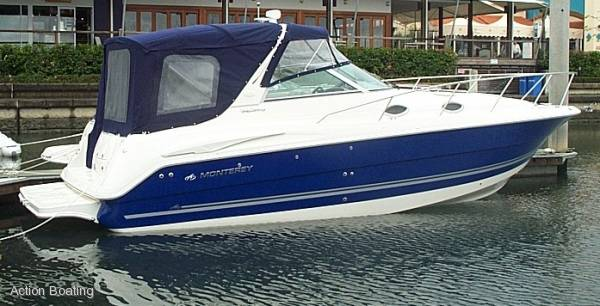 Monterey 302 Cr Sports Cruiser: Power Boats | Boats Online for Sale | Grp ...