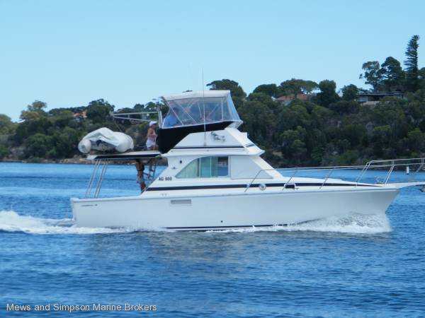 Bertram 35 Sportfish Flybridge