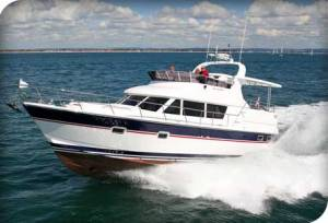 Trader 42 Aft Cab Flybridge