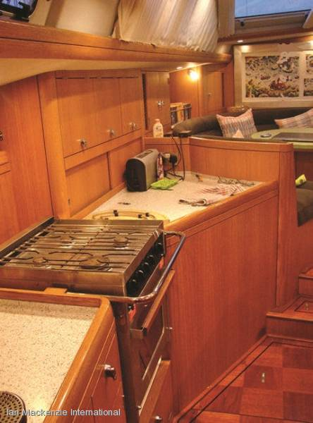 Oyster 56 Deck Saloon Sailing Yacht