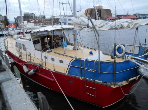 "Bollard 60ft Steel Ketch ""Palona"""